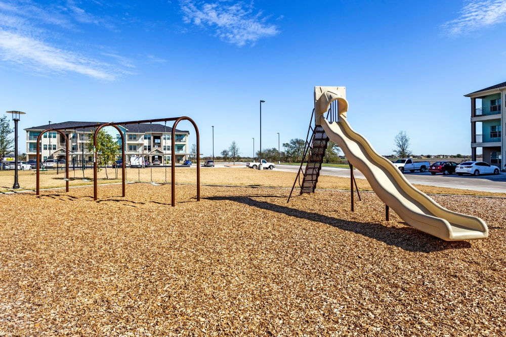 Playground at Apartments in Lockhart, Texas