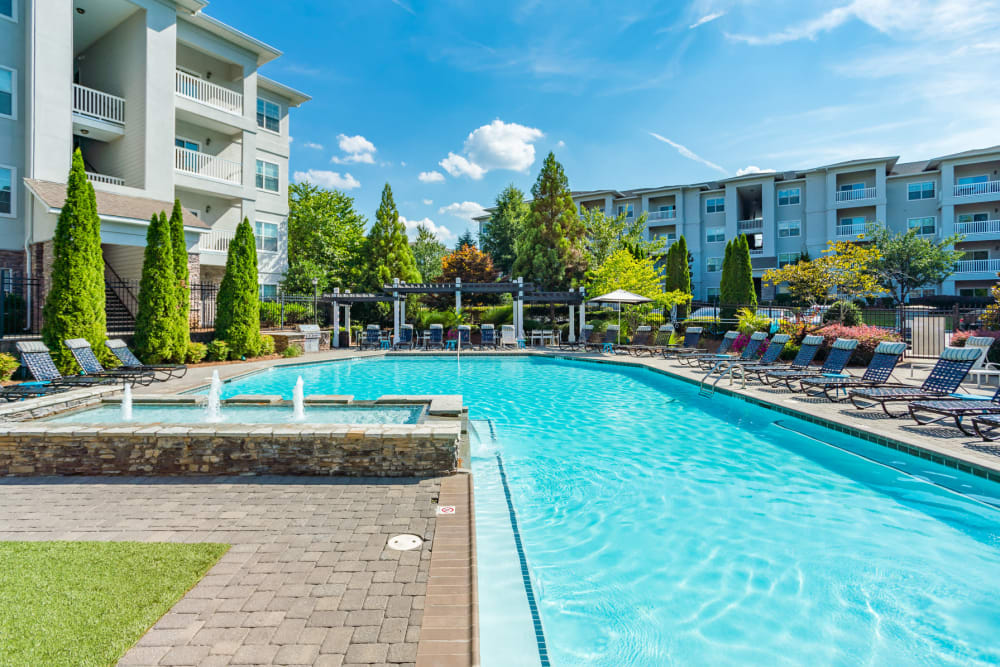 Our Apartments in Duluth, Georgia offer a Beautiful Swimming Pool