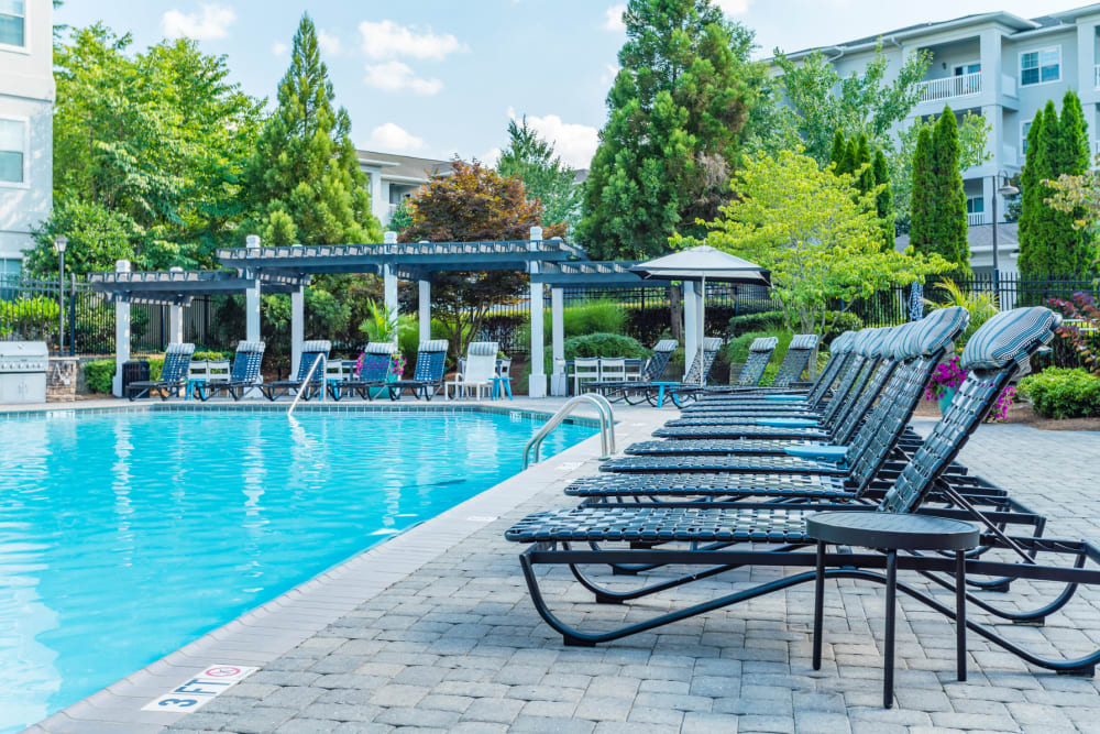 Enjoy Apartments with a Pool at The Maddox