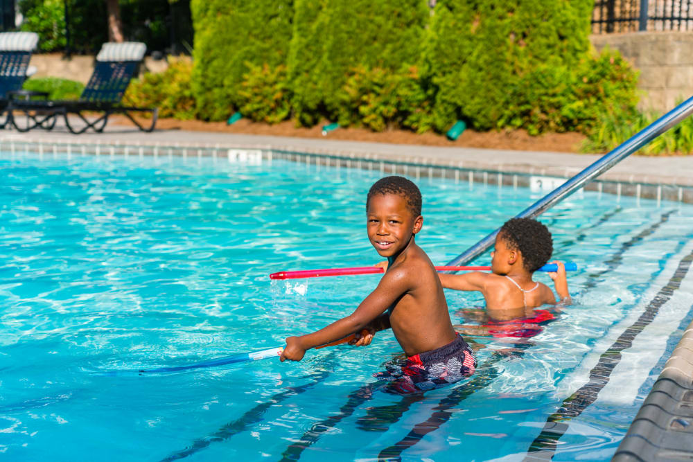 Enjoy Apartments with a Swimming Pool at The Maddox