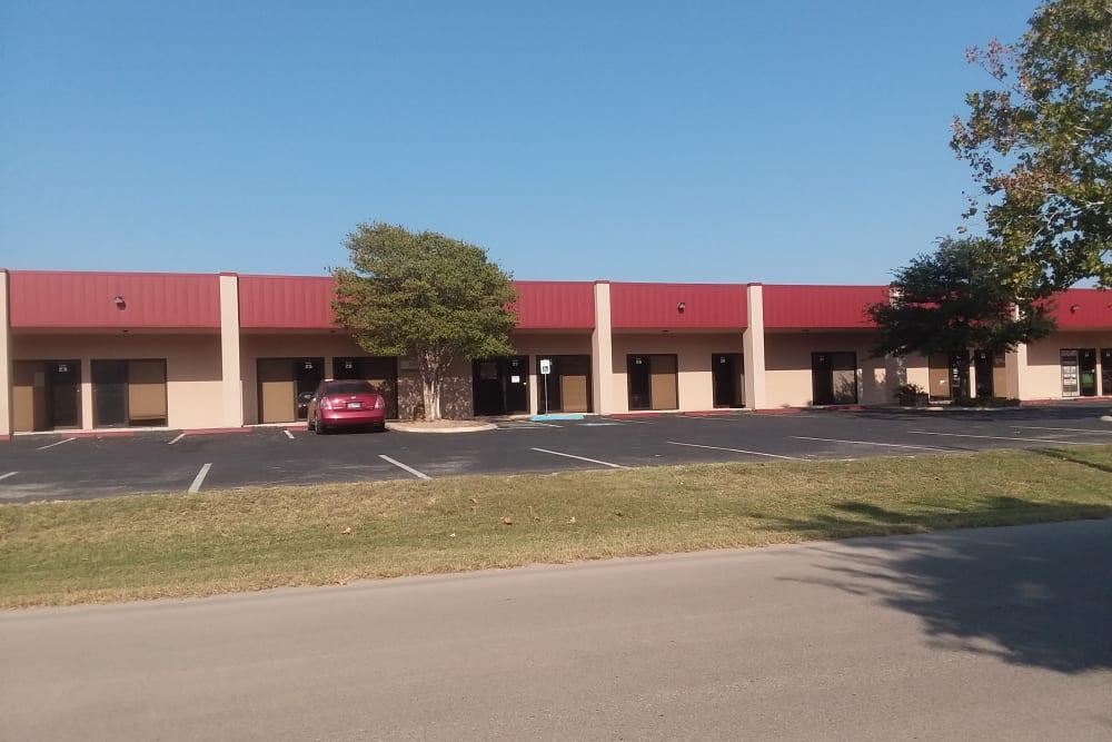 Exterior of AAA Alliance Self Storage in San Antonio, Texas