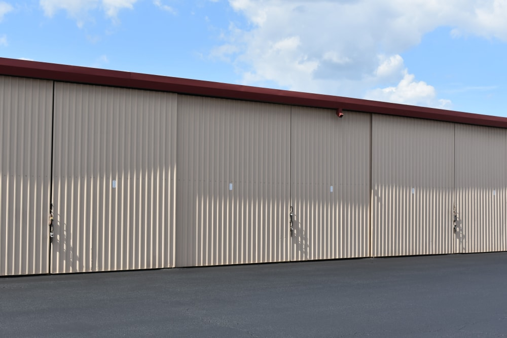 Large storage units for RV's at AAA Alliance Self Storage in San Antonio, Texas