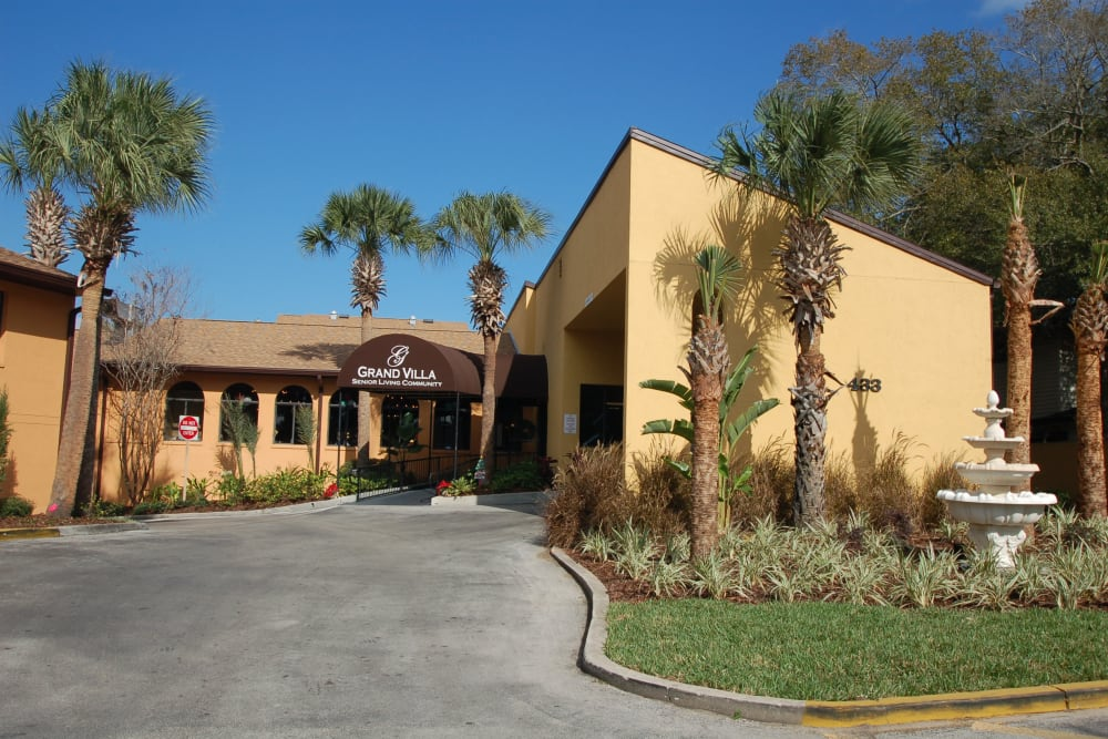 Exterior of Grand Villa of Altamonte Springs in Florida