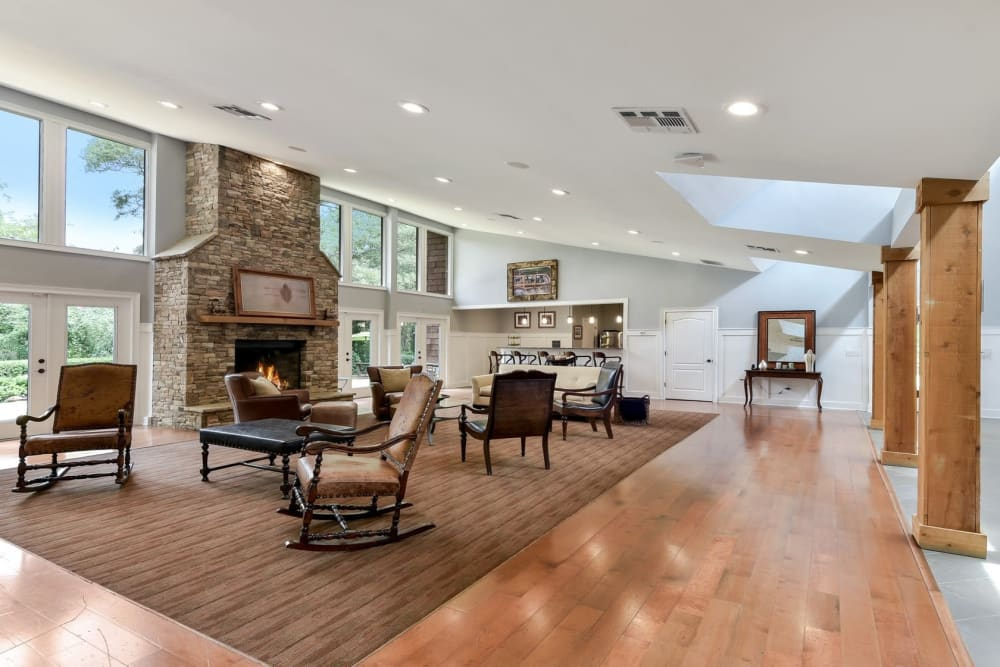 Enjoy Apartments with a Clubhouse at The Lodge on the Chattahoochee Apartments