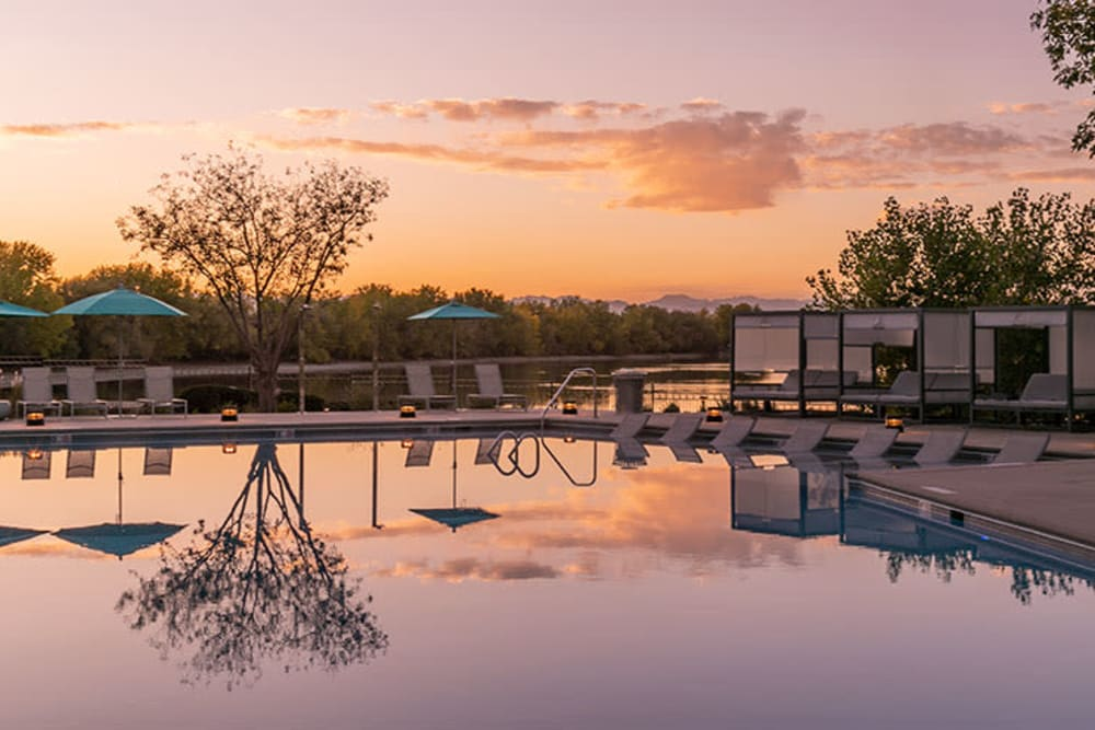 Beautiful photo of pool at TAVA Waters in Denver, Colorado