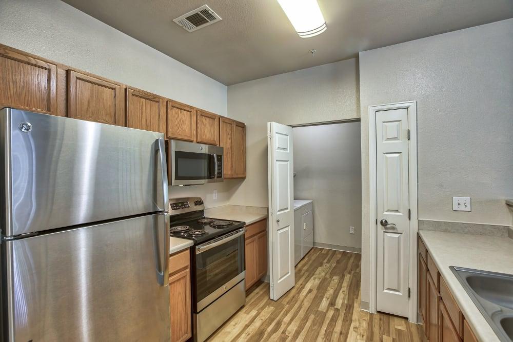 Kitchen at Platte View Landing in Brighton, Colorado