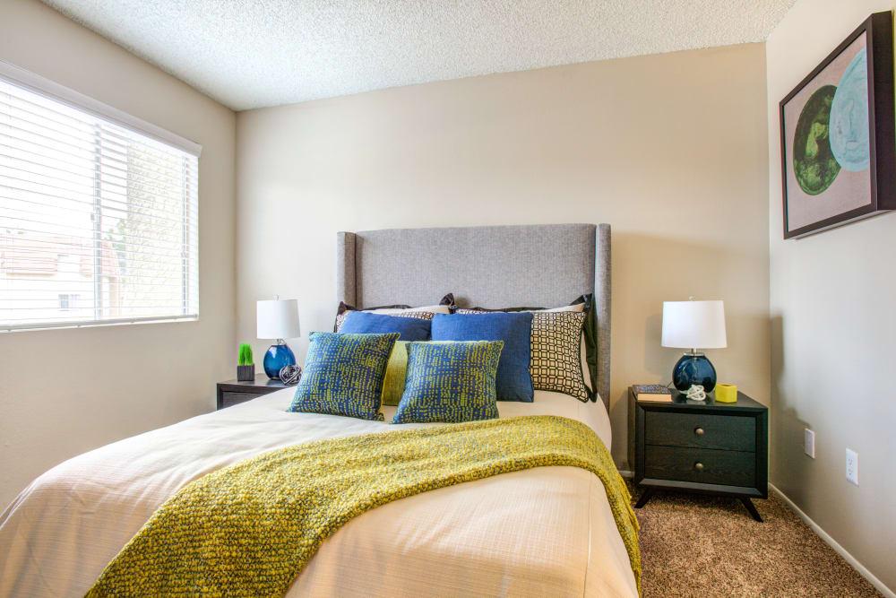 Bedroom at Verde Apartments in Tucson, Arizona