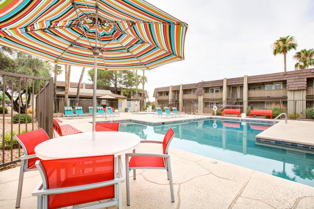 Swimming Pool at Verde Apartments in Tucson, Arizona