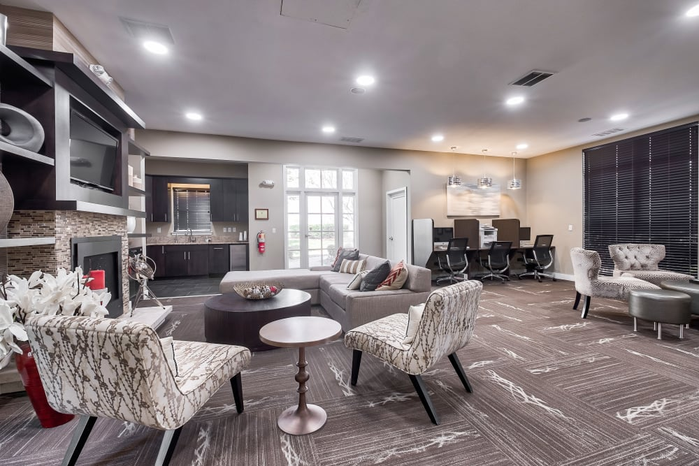 Resident Clubhouse at The Reserve at Ballenger Creek Apartments in Frederick, Maryland