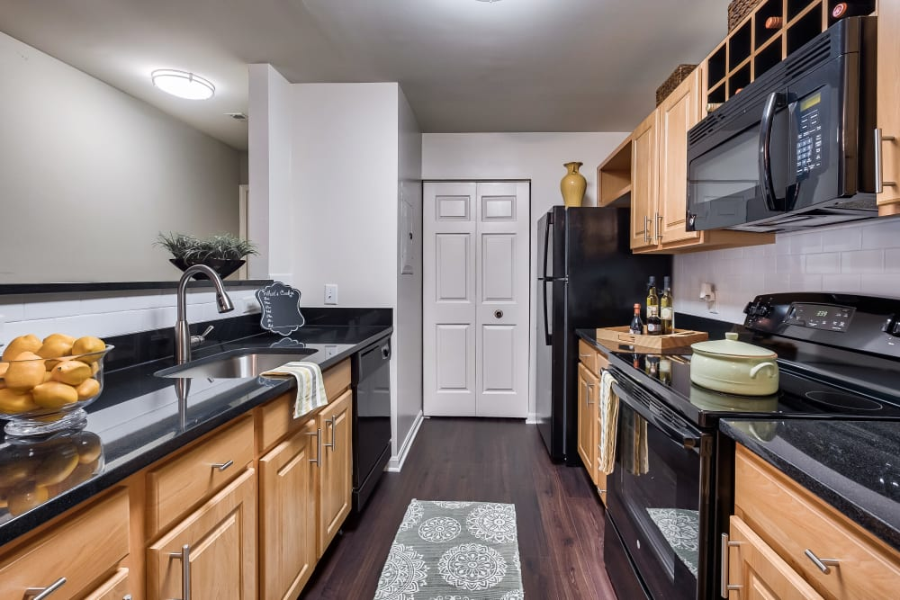Kitchen at The Reserve at Ballenger Creek Apartments in Frederick, Maryland