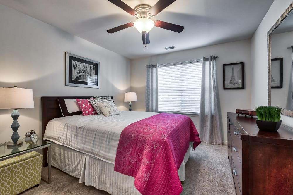 Bedroom at The Reserve at Ballenger Creek Apartments in Frederick, Maryland