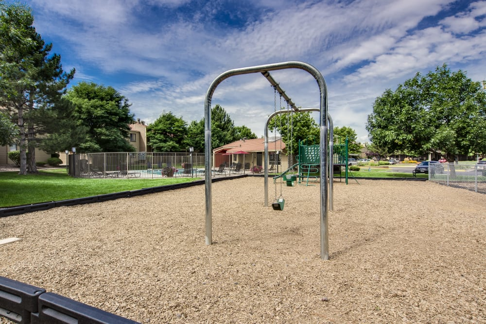 Onsite children's playground at Santana Ridge in Denver, Colorado