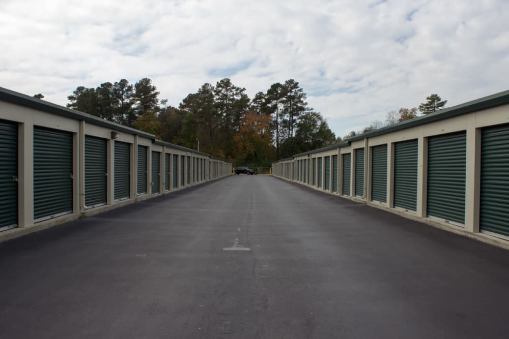 View of property at Cliffdale Safe Storage in Fayetteville, North Carolina
