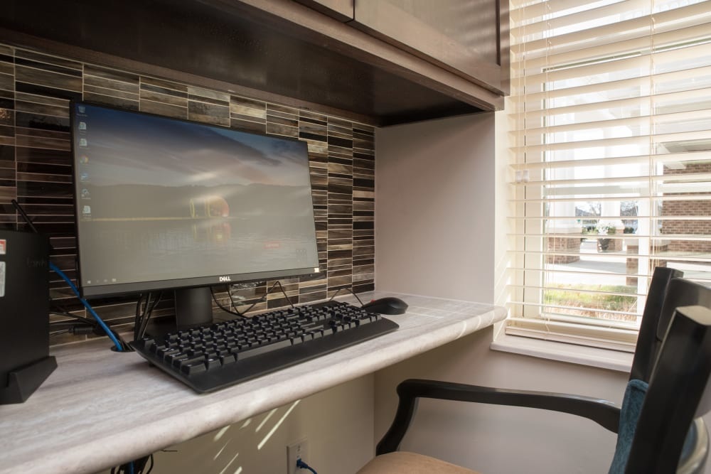 Computer for use at  Smith's Mill Health Campus