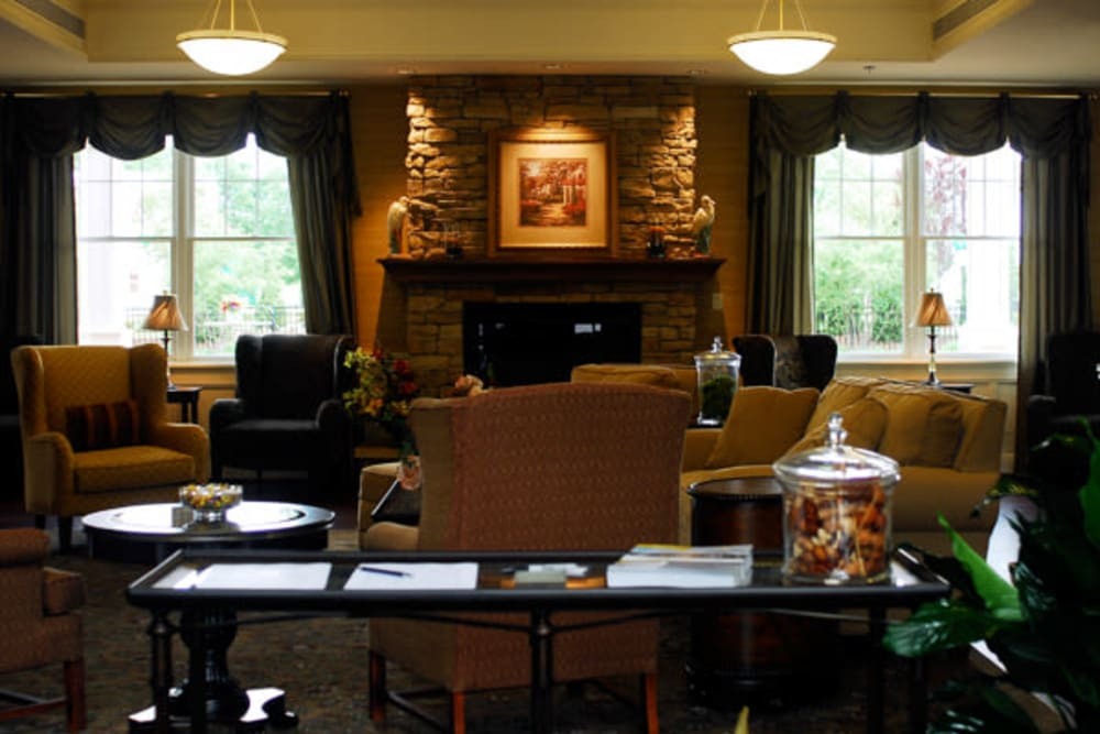Clubhouse interior at Marquis Place in Murrysville, Pennsylvania