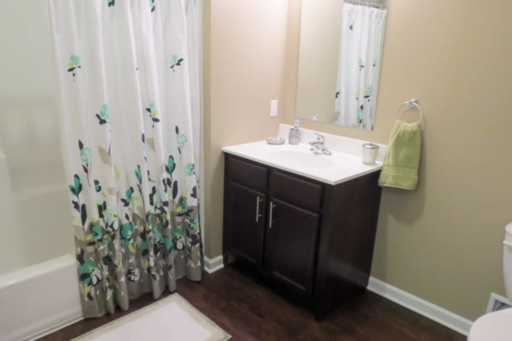 Spacious bathroom at Marquis Place in Murrysville, Pennsylvania