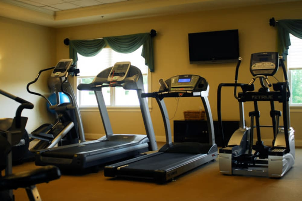 Fitness center at Marquis Place in Murrysville, Pennsylvania