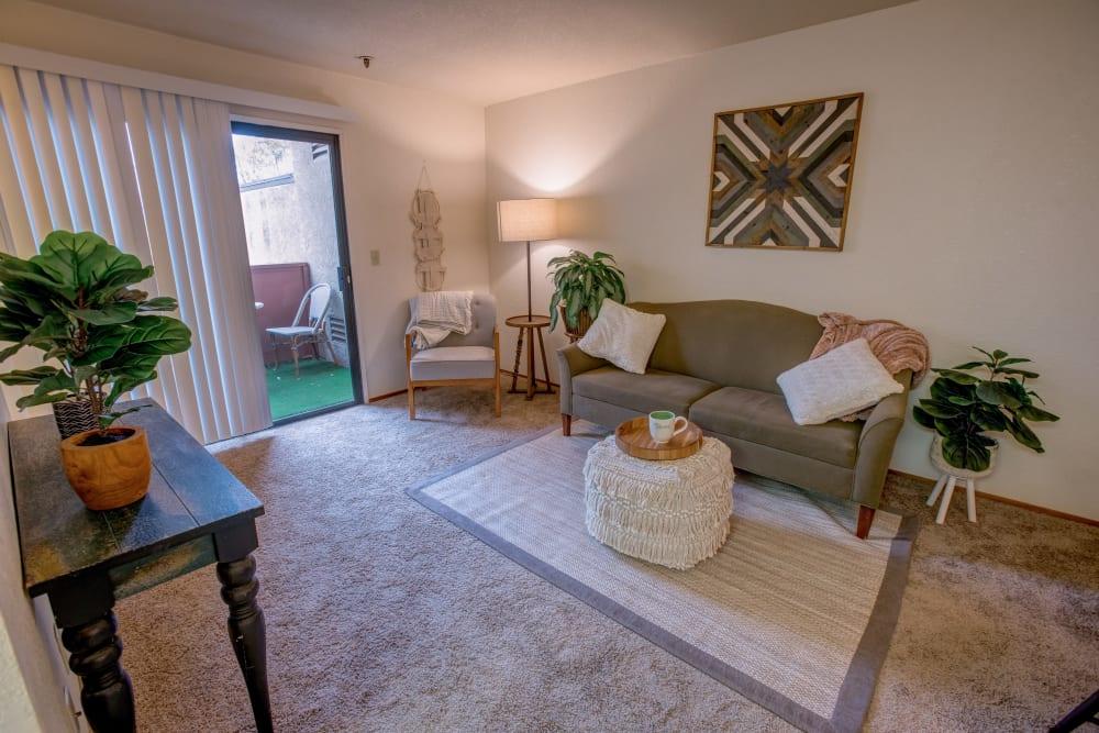 Family room at Golden Pond Retirement Community