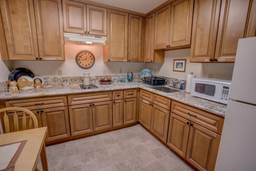 Kitchen at Golden Pond Retirement Community