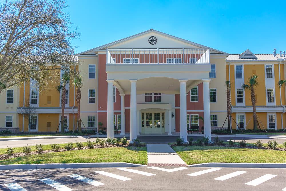The front entrance at Gentry Park Orlando in Orlando, Florida