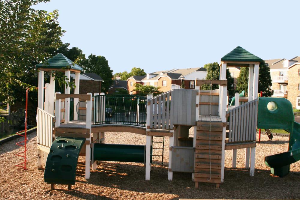 Onsite children's playground at Oxford Hills in St. Louis, Missouri