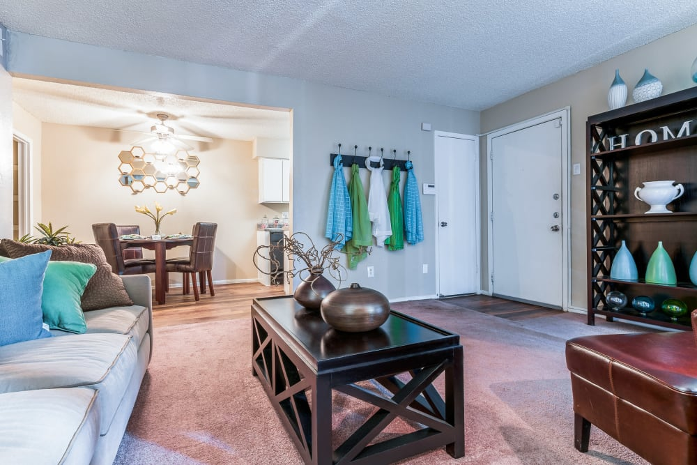 Open floor plans at 8500 Harwood Apartment Homes in North Richland Hills, Texas