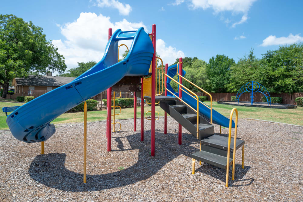 Onsite playground at 8500 Harwood Apartment Homes in North Richland Hills, Texas