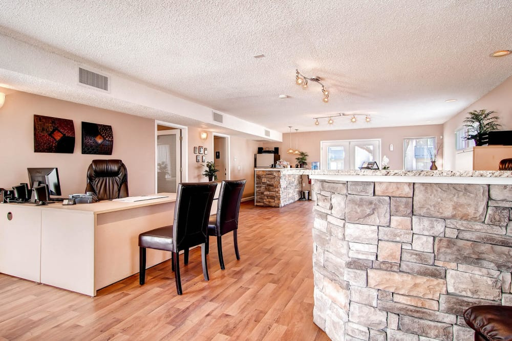 Leasing office at Arvada Village Apartment Homes in Arvada, Colorado