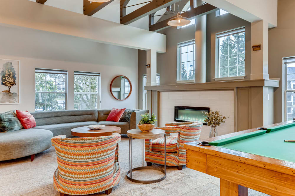 Our Apartments in Renton, Washington offer a Clubhouse