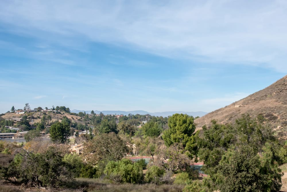 View of the surrounding neighborhood from Sofi Thousand Oaks in Thousand Oaks, California