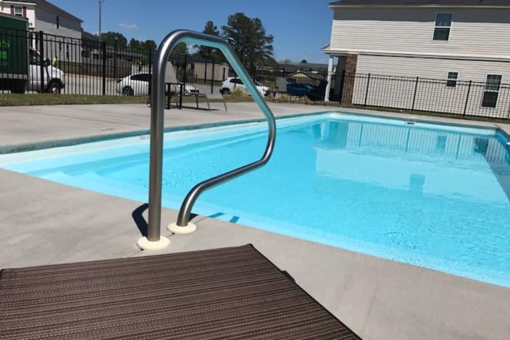 Pool area at The Village at Mill Creek in Statesboro, Georgia