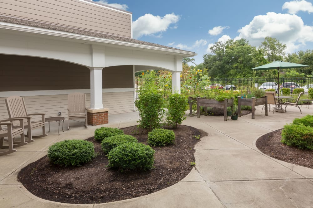 Landscaping at The Reserve at East Longmeadow in East Longmeadow, Massachusetts