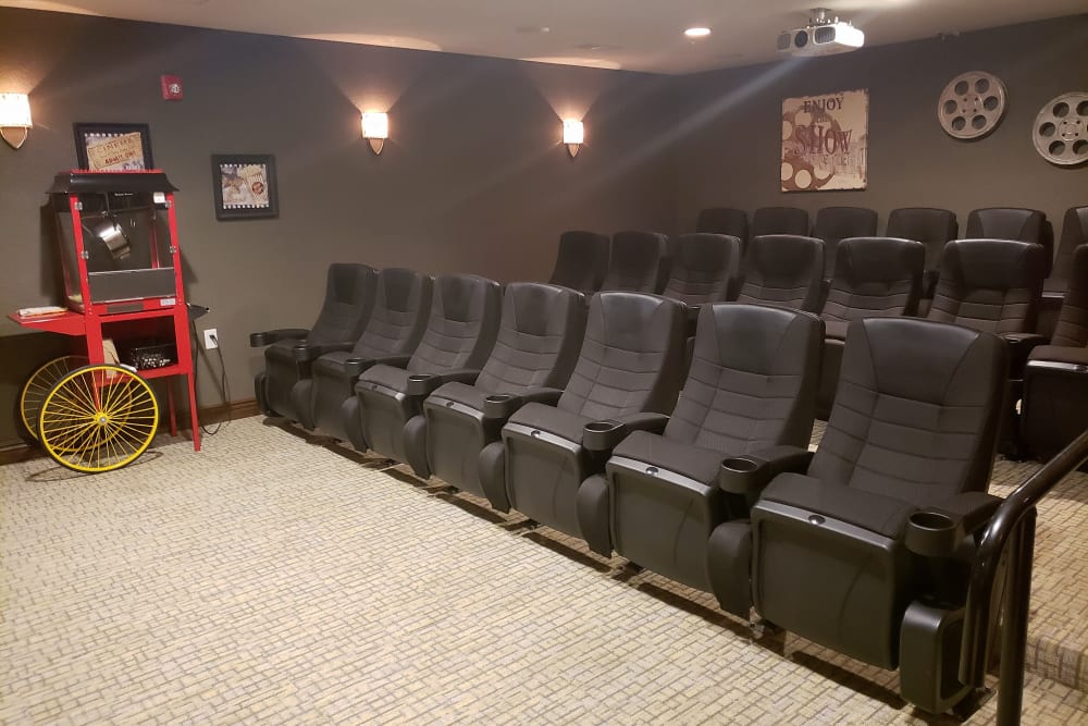 Onsite Theater at Villas of Holly Brook Chatham in Chatham, Illinois