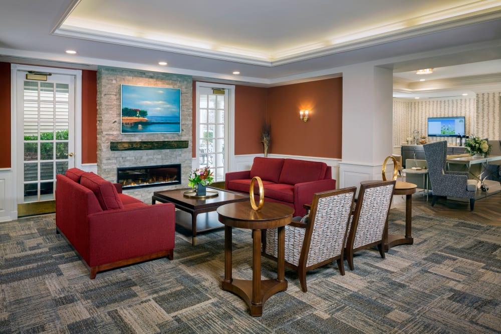 Lobby at Maplewood at Orange in Orange, Connecticut