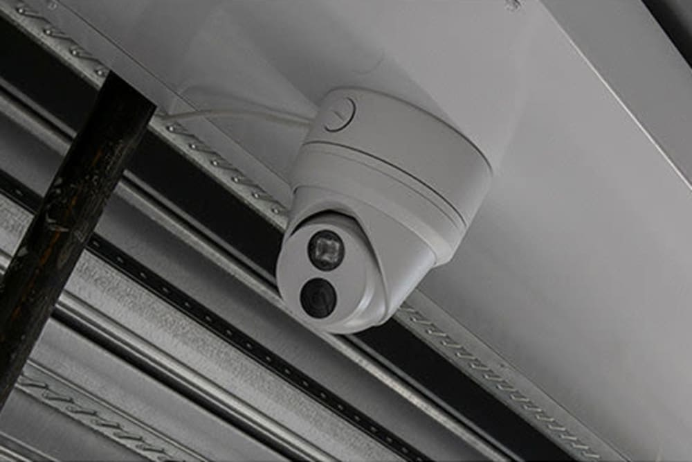 38 high resolution cameras monitor premises 24/7 at Ballinger Heated Storage in Shoreline, Washington