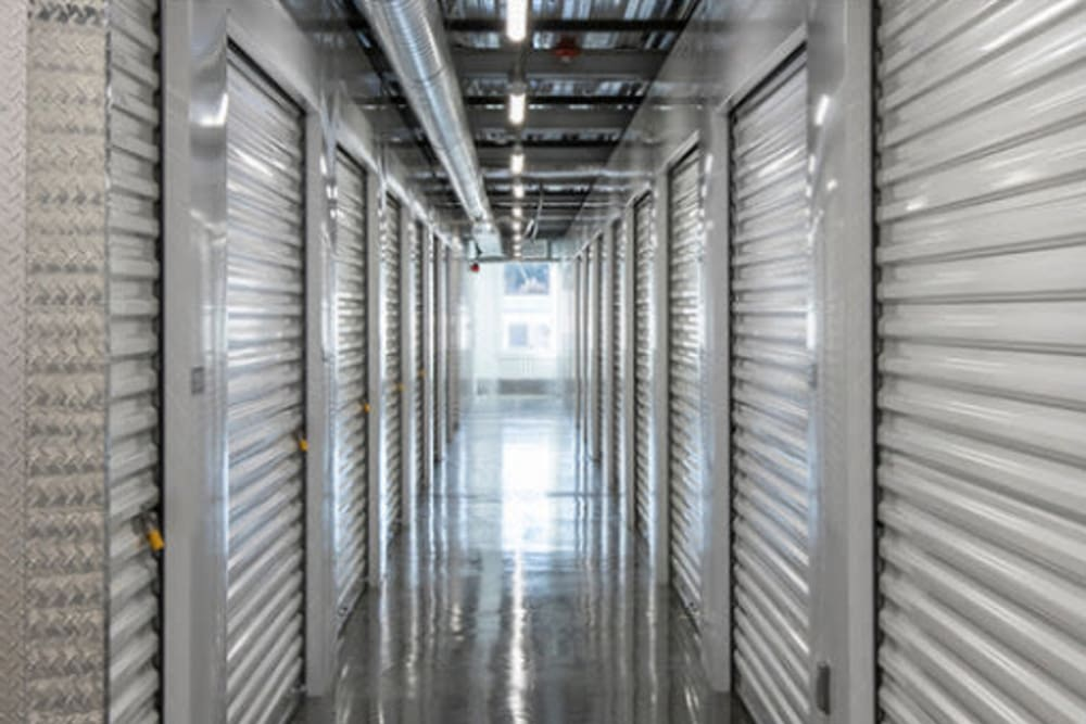 Extensive heating ducts to distribute warm air at Ballinger Heated Storage in Shoreline, Washington