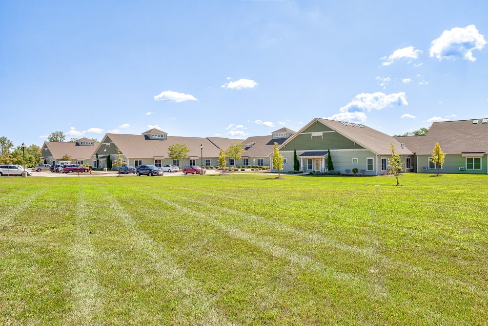 Beautiful lawn at Landings of Huber Heights in Huber Heights, Ohio