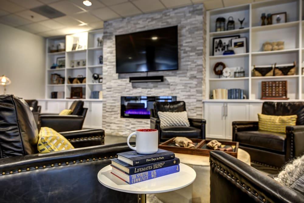 Lounge area at LARC at Burien in Burien, WA