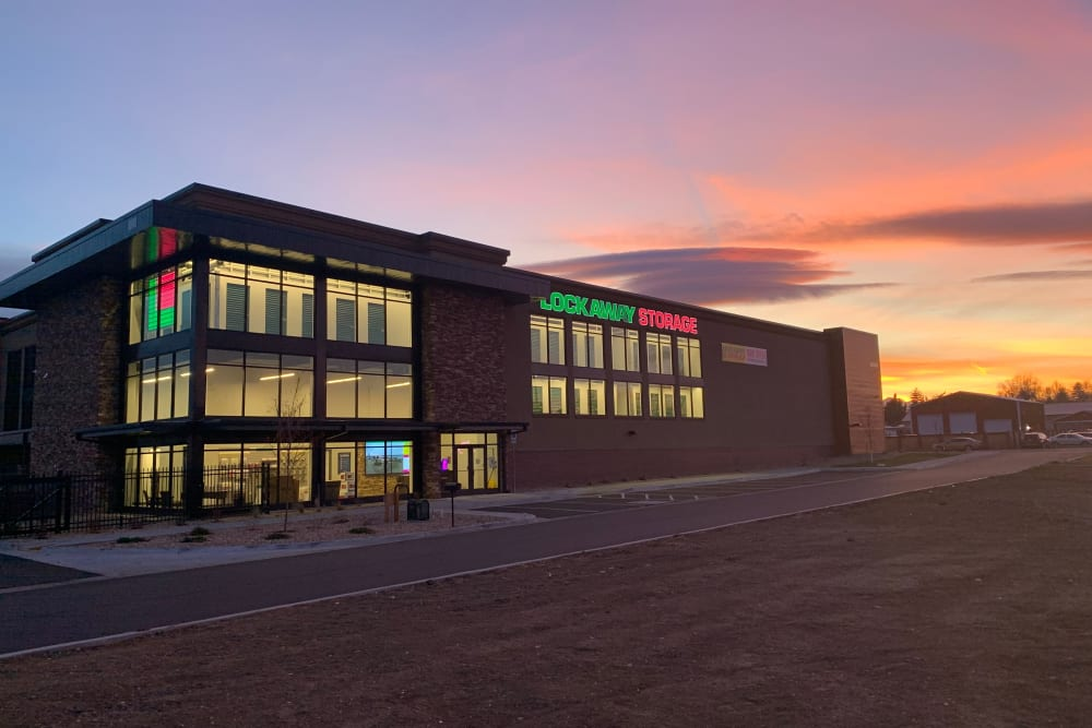 Exterior photo of Lockaway Storage in Loveland, CO