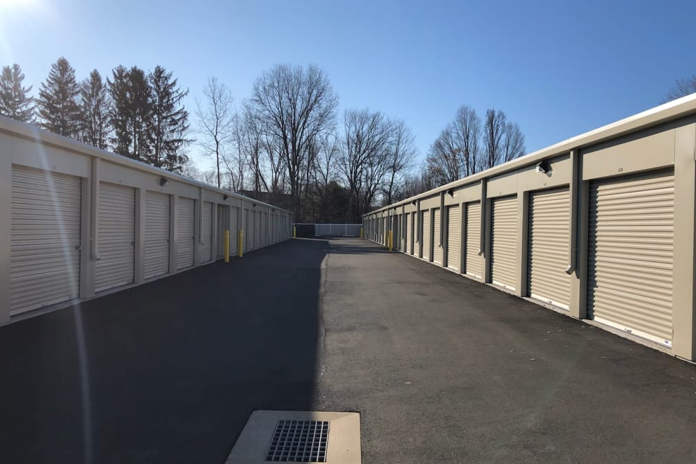 Exterior units at CT SELF STOR in Southington, Connecticut.