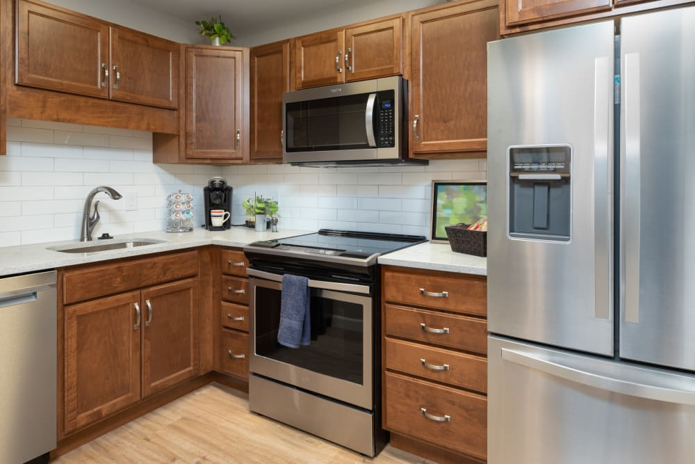 Kitchen at Touchmark on West Prospect