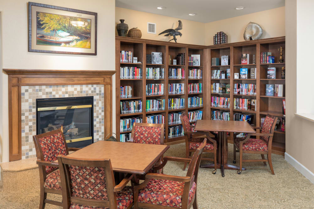 Library at Touchmark on West Prospect