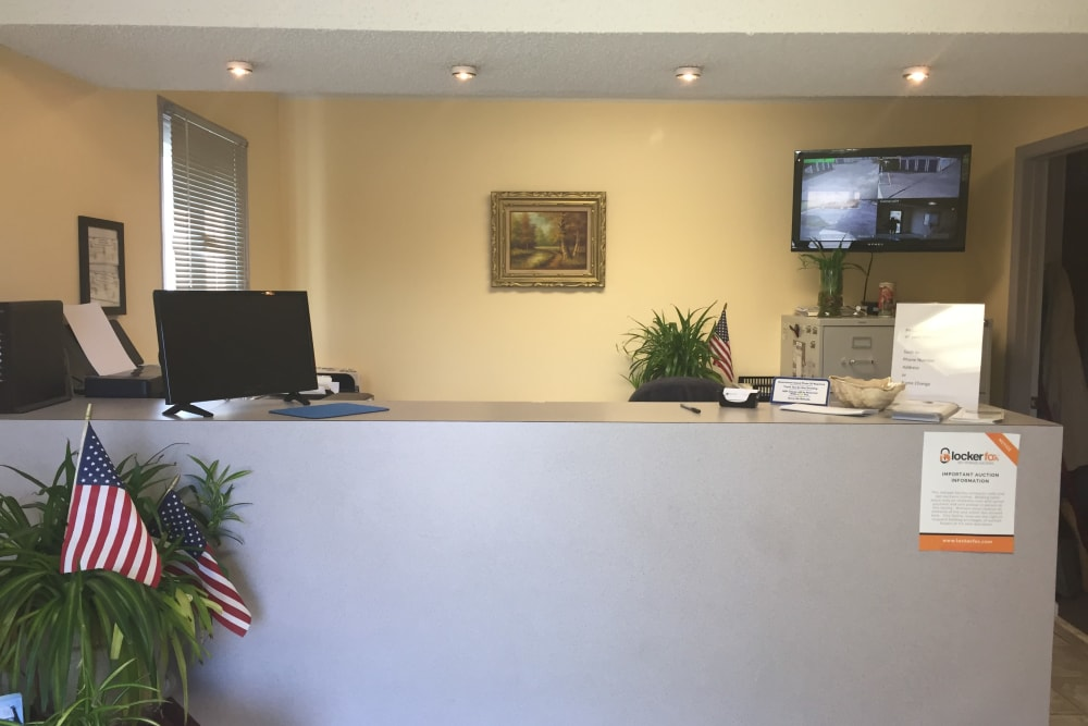 Storage leasing office at Store It All Self Storage - Barnegat