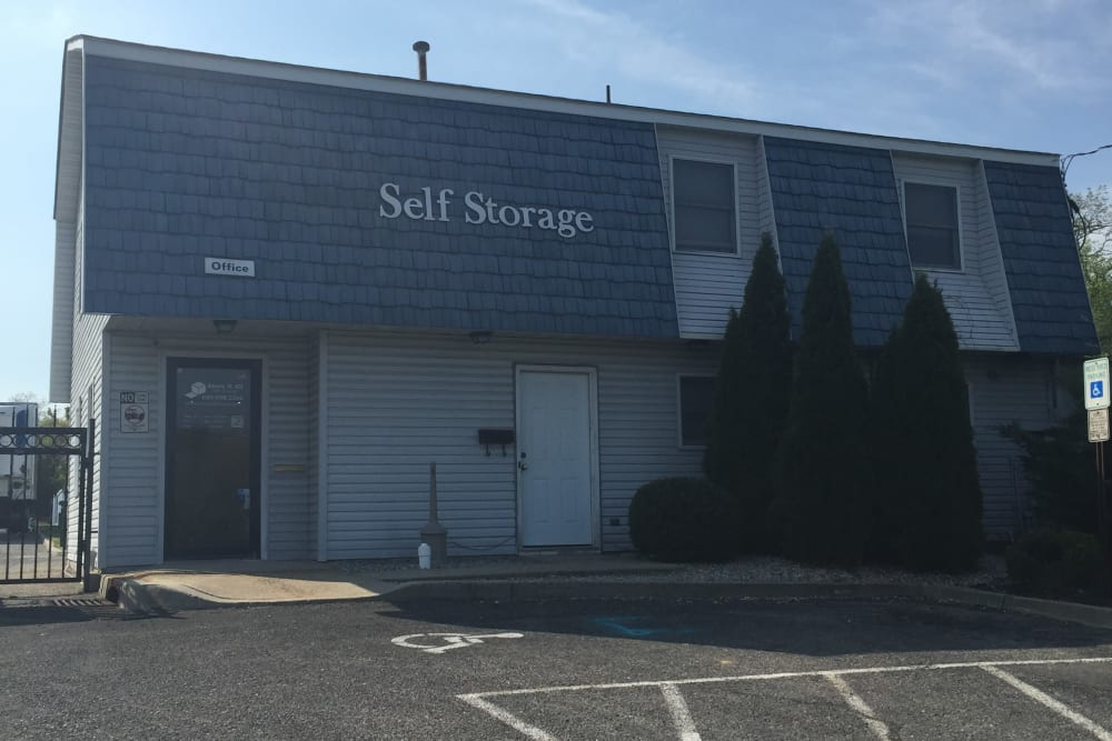 Storage facility entrance at Store It All Self Storage - Barnegat
