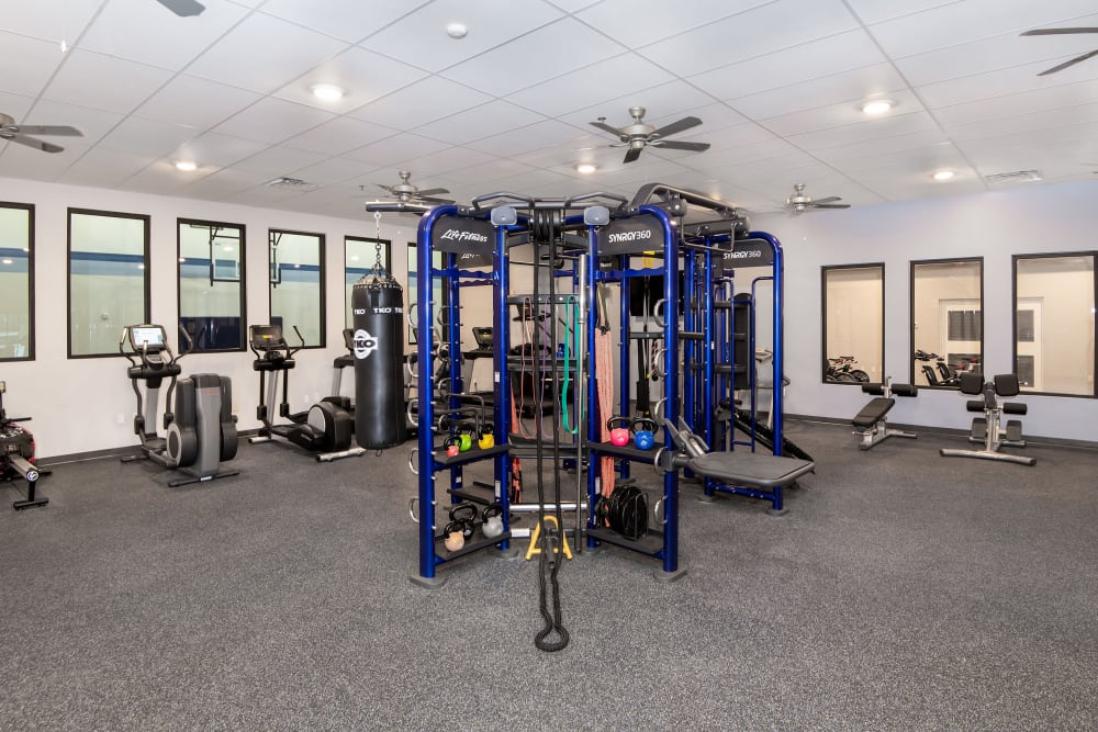 Gym at Carrollton Park of North Dallas | Apartments in Dallas, Texas