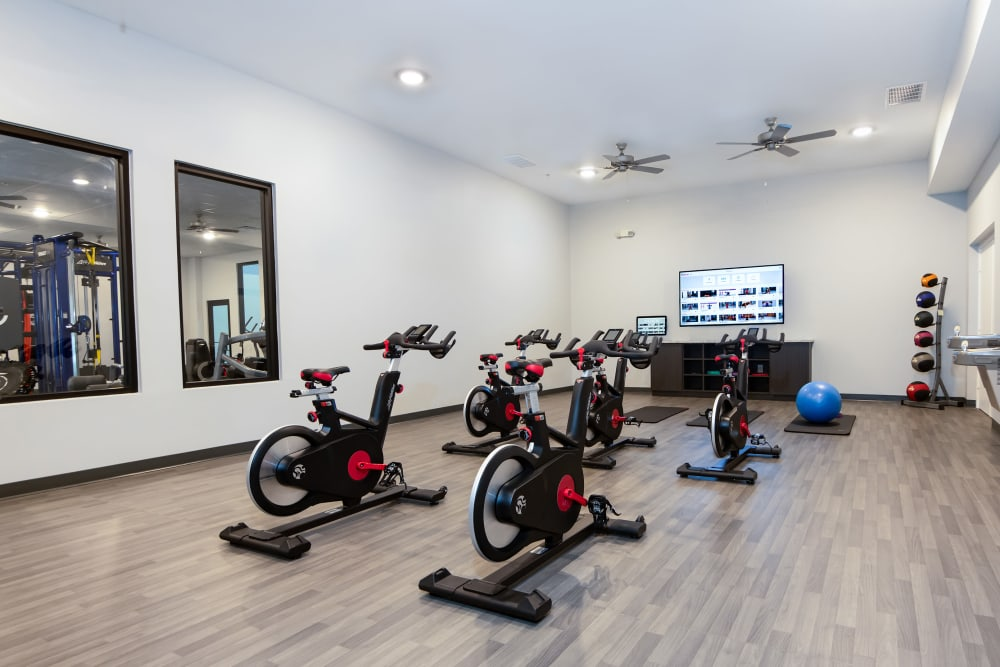 Spin Room at Carrollton Park of North Dallas in Dallas, Texas