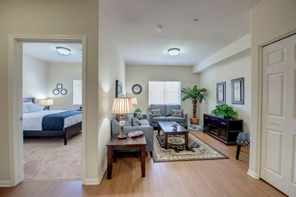 1 Bedroom senior apartment at Cypress Place in Ventura, California