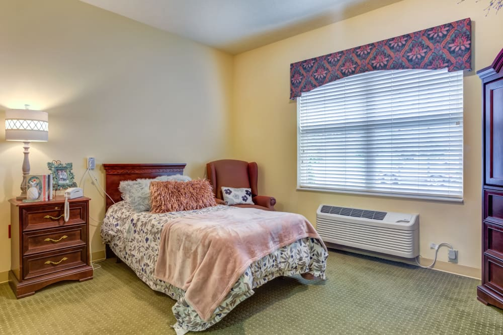 Model Bedroom at The Willows at Hamburg in Lexington, Kentucky