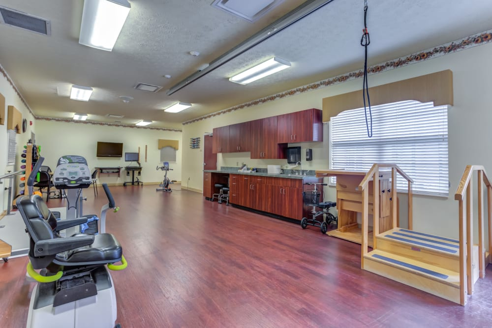 Fitness Center at The Willows at Hamburg in Lexington, Kentucky