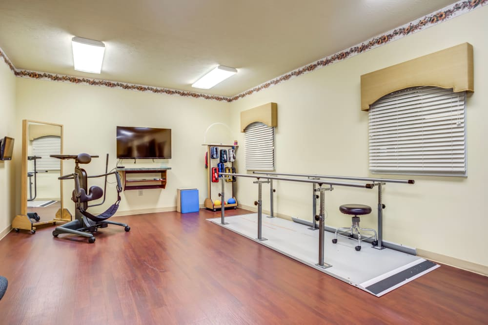 Fitness center at The Willows at Citation in Lexington, Kentucky